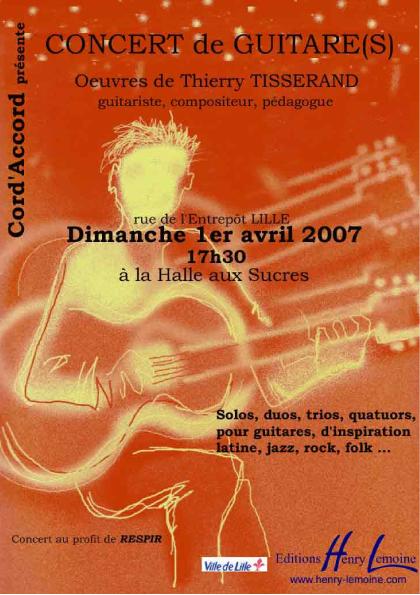 "Concert caritatif pour ""respir"""